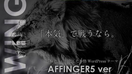 アフィンガー5をブログ初心者が購入するべき10の理由【本音】