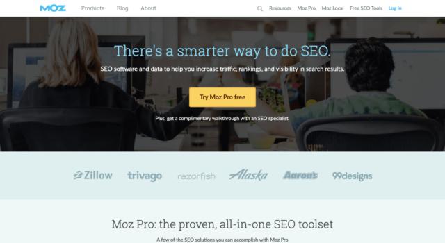 ⑥:Mozbar(競合サイト分析ツール)
