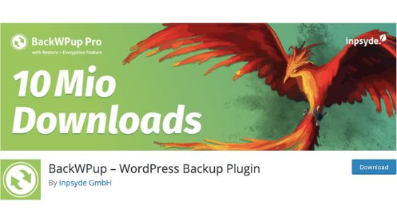 WordPressブログのプラグイン①:BackWPup