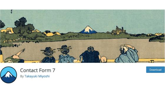 WordPressブログのプラグイン②:Contact Form 7