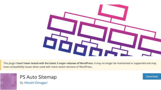WordPressブログのプラグイン⑤:PS Auto Sitemap