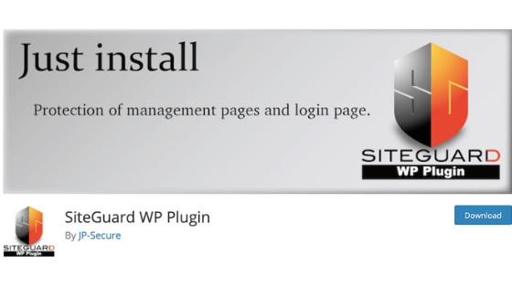 WordPressブログのプラグイン⑥:SiteGuard WP Plugin