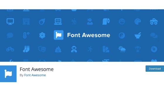 その④:Font Awesome