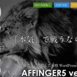 AFFINGER5(アフィンガー5)を初心者は購入すべき?【評判あり】